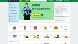 Cần đặt thiết kế web giống bachhoaxanh.com?