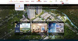 Cần đặt thiết kế web giống Vinhomes.vn chuẩn SEO?