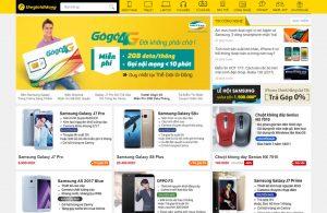 Cần gấp thiết kế web bán hàng giống thegioididong.com?