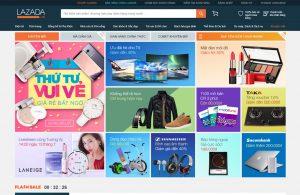 Hỏi giá thiết kế web siêu thị giống Lazada.vn?