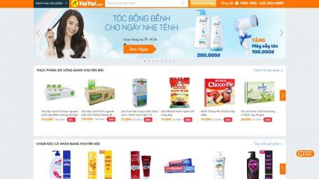 Thiết kế web bán hàng giống vuivui.com giá thế nào?