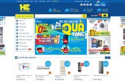 Thiết kế web siêu thị giống Hc.com.vn có làm được không?